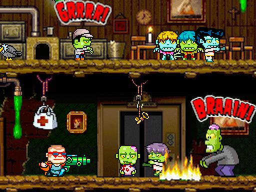 Платформер Crazy Bill: Zombie stars hotel появился на Android