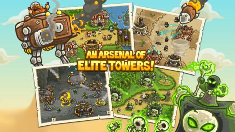 Kingdom Rush Frontiers теперь доступна для Android устройств