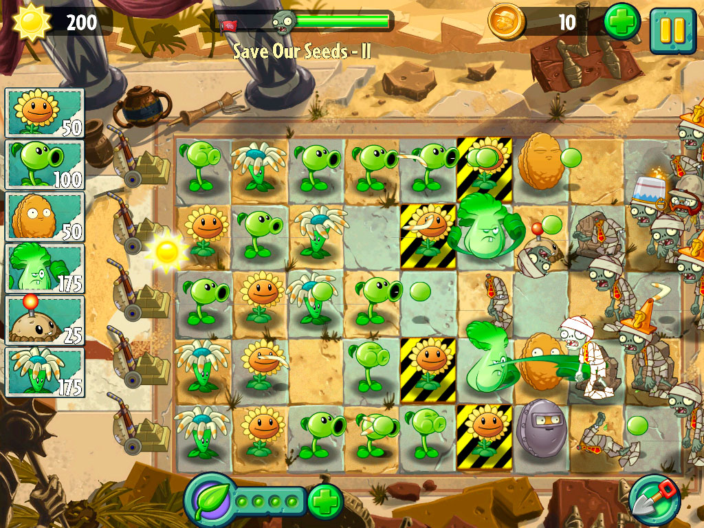 Plants vs. Zombies game download for pc and mac.