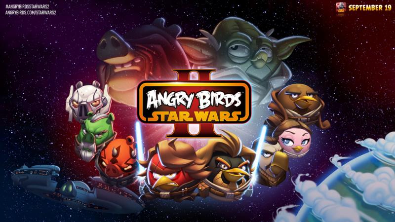 Персонажи из Angry Birds Star Wars 2 демонстрируют свои способности