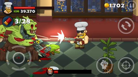 Остановить нашествие зомби-овощей в новой iOS игре Bloody Harry
