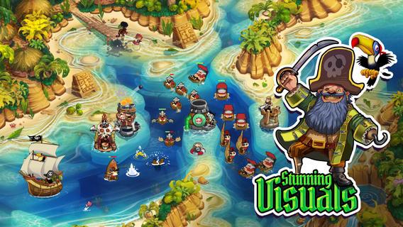 Pirate Legends TD – побывайте в пиратских легендах