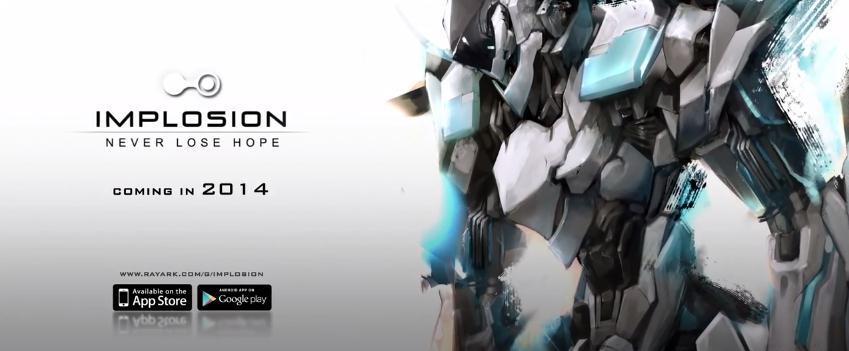 Трейлер предстоящего 3D-шутера Implosion