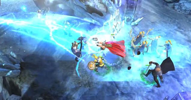 Новый трейлер игры Thor: The Dark World