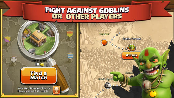 Clash of Clans доступна для Android