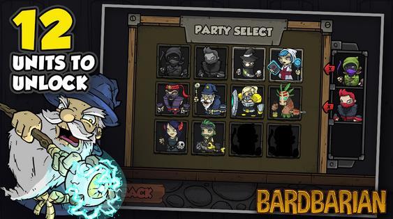 Студия Bulkypix впервые сделала игру Bardbarian бесплатной