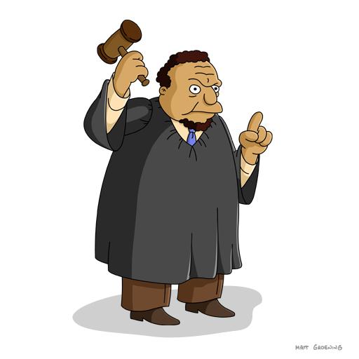 Синеволосый адвокат и судья Снайдер появились в The Simpsons: Tapped Out