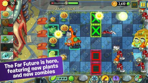 Вышло огромное обновление для Plants vs. Zombies 2 – вперед в будущее!