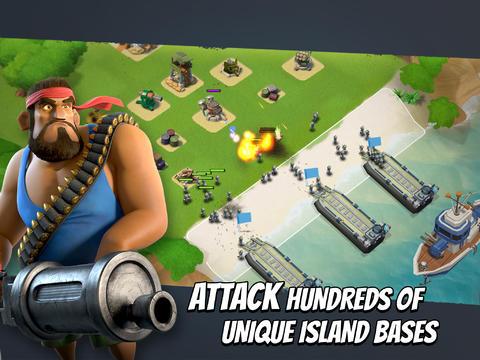 Новые игры: Boom Beach, Первый Мститель, Word Monsters…
