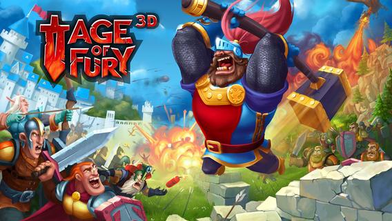 Age Of Fury 3D – социальная стратегия с хорошей 3D графикой