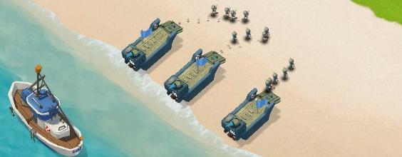 Boom Beach: Четвертый совет – Все начинается с берегов.