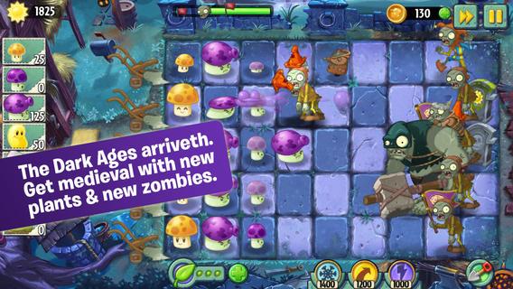 В Plants vs. Zombies 2 открылся новый средневековый мир