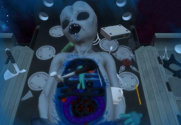Инопланетянин в Surgeon Simulator