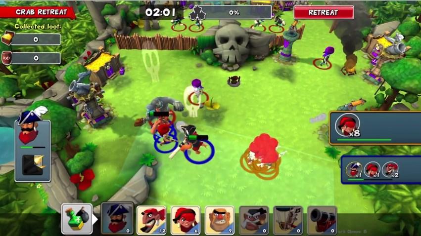 Стратегия Gang of Pirates от Chillingo и Nitro Games выйдет в этом году