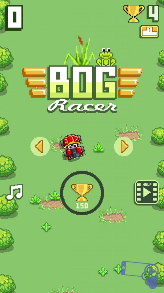 Bog Racer – яркая убивалка времени