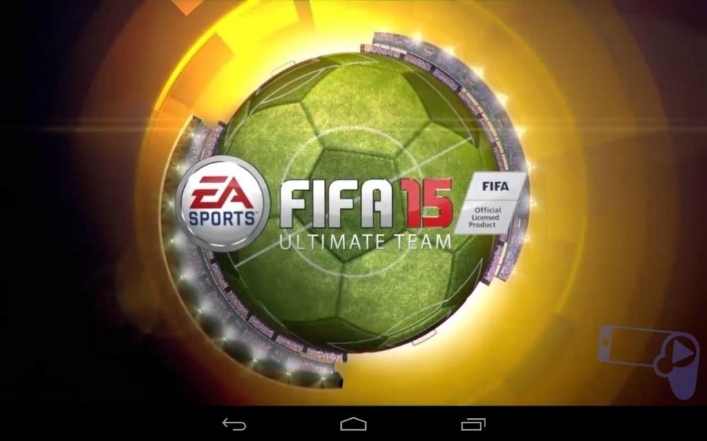 Официальный логотип FIFA 15 Ultimate Team