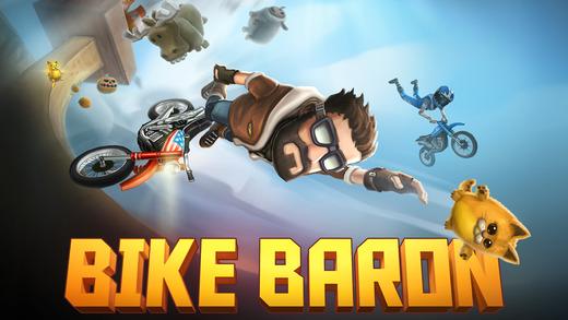 Игра Bike Baron празднует третий год в App Store, став временно бесплатной