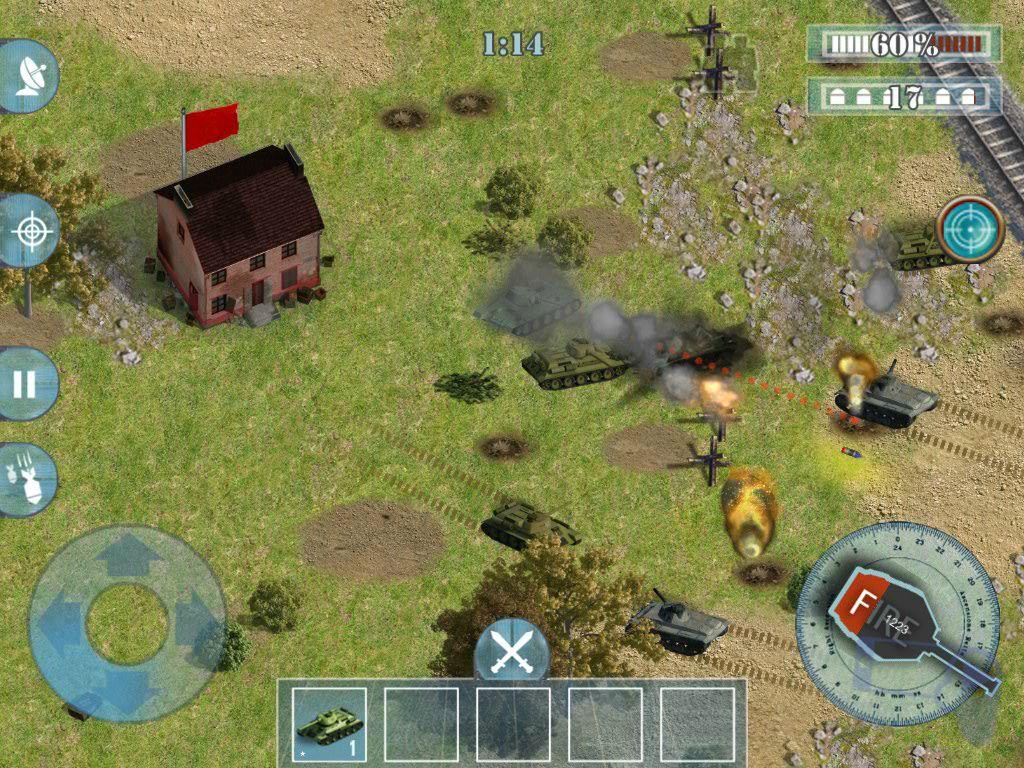 Обзор игры Tank Madness: создайте и возглавьте армию танков