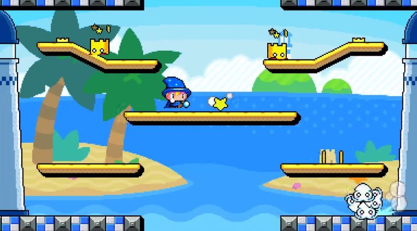 Пиксельный платформер Drop Wizard скоро появится на iOS-устройствах