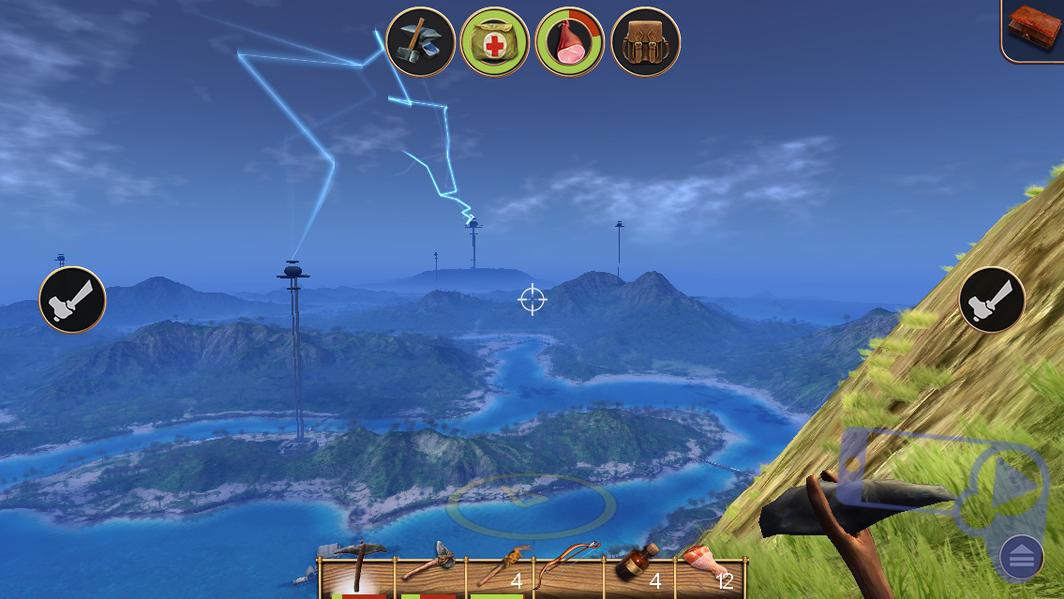 Обзор Radiation Island: вид на остров с самой высокой точки