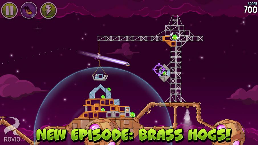 Angry Birds Space обновилась – космические приключения птиц продолжаются