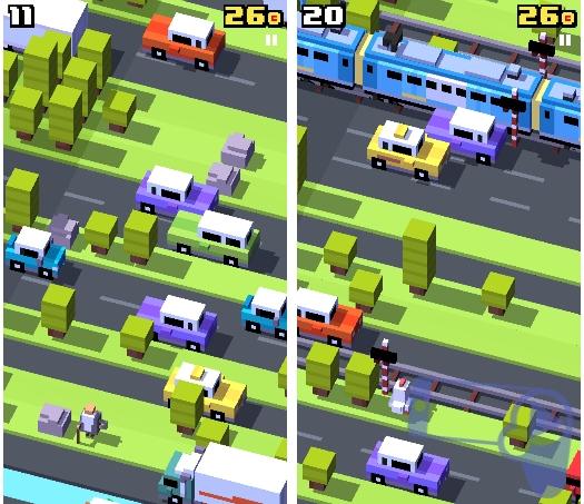 Crossy Road - лучшая мобильная игра января 2015 года