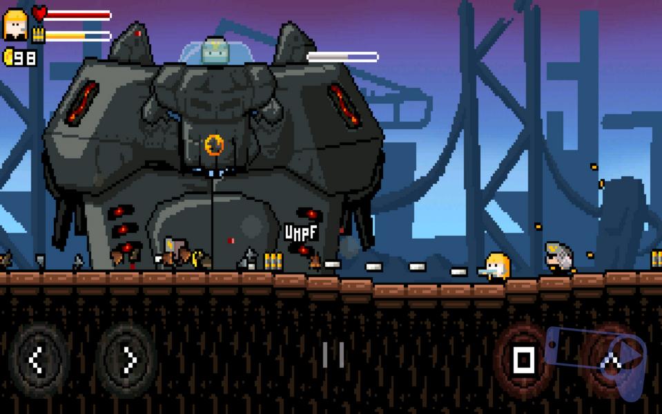Обзор Gunslugs 2: четвертый босс-робот