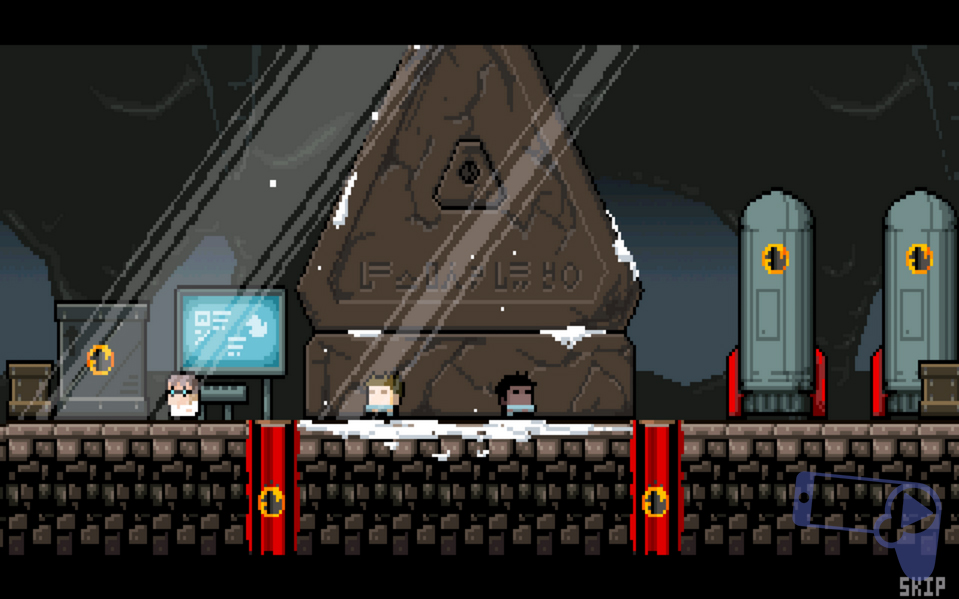 Обзор Gunslugs 2: начальная сцена