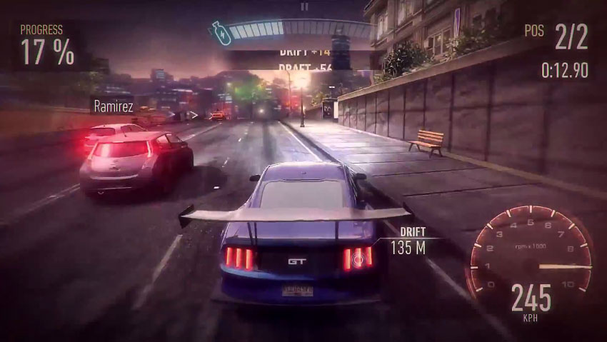 Need For Speed Underground игра по Сети