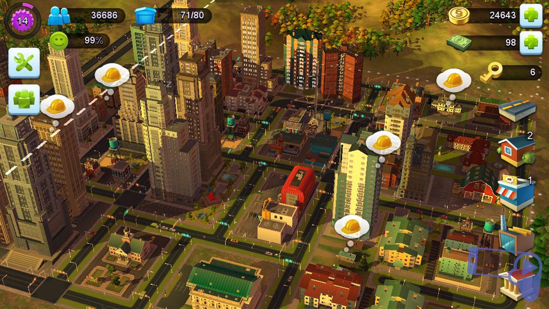 Обзор SimCity BuildIt: стройте красивый город без каких-либо проблем