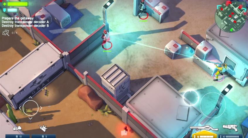 Space Marshals - лучшая мобильная игра января 2015 года