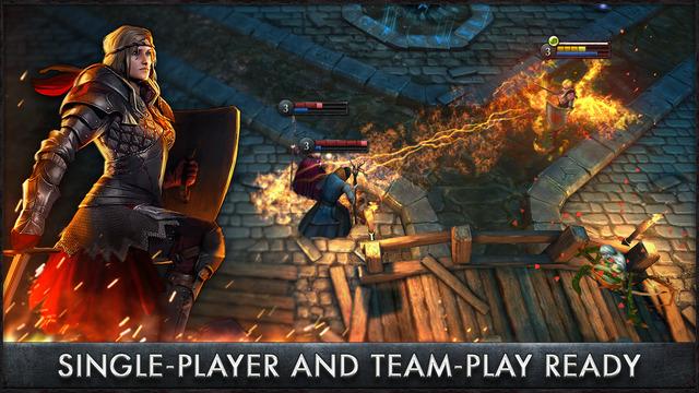 The Witcher Battle Arena - лучшая мобильная игра января 2015 года