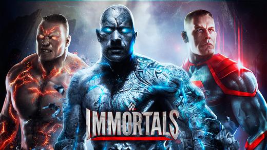 WWE Immortals - лучшая мобильная игра января 2015 года