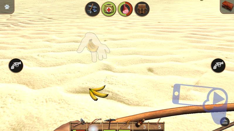 Советы по игре в Radiation Island: бананы - полезная еда