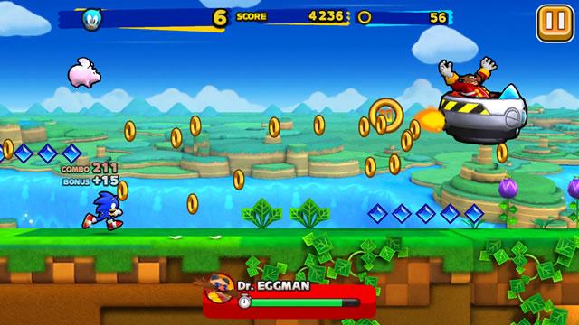 Появился геймплейный трейлер Sonic Runners
