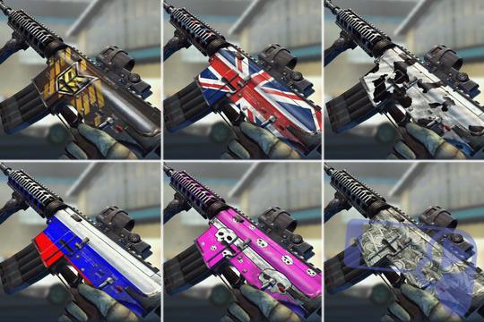 Камуфляж оружия из МС5