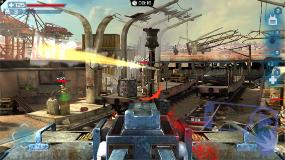 Стрельба из пулеметного гнезда из Overkill 3