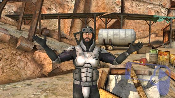 Радость главного героя из Overkill 3