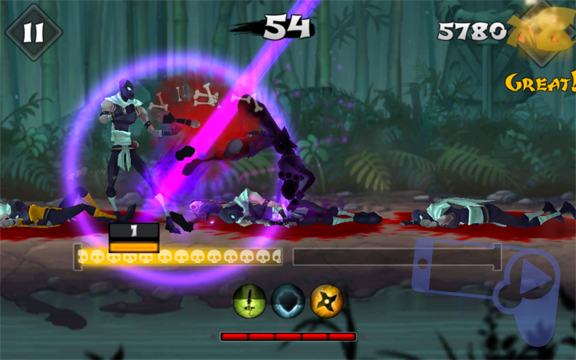 Обзор Fatal Fight – дайте отпор злым ниндзя в пропитанных кровью драках