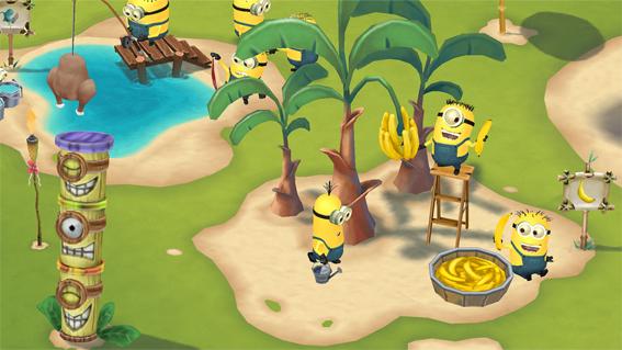 Minions Paradise – создать курорт для миньонов можно будет этим летом
