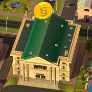 Советы SimCity BuildIt - монетка означает, что можно собрать налоги
