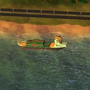 Советы SimCity BuildIt - корабль уезжает с полученным в городе грузом
