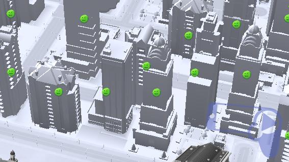 Советы SimCity BuildIt – график счастья