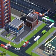 Советы SimCity BuildIt - участок полиции и пожарная часть в одном месте