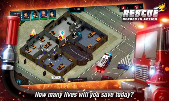 Rescue: Heroes in Action - игра о борьбе с пожарами выйдет в июне