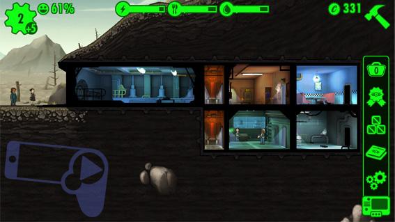 Симулятор убежища Fallout Shelter – мобильная игра во вселенной Fallout