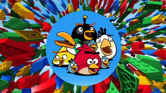 LEGO создадут наборы Angry Birds к 2016 году