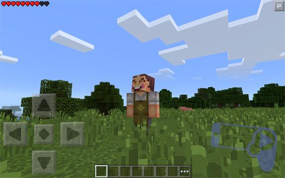 Новый скин из мобильной Minecraft: Pocket Edition
