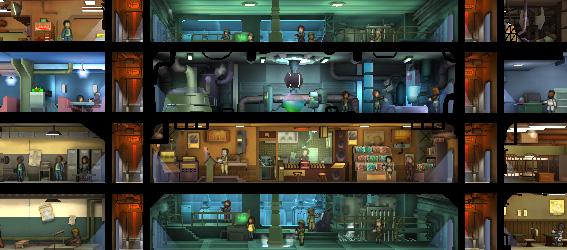 Советы Fallout Shelter: два лифта очень удобно для ваших жильцов