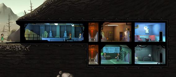 Советы Fallout Shelter: бункер на первом этапе строительства